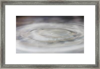 Framed Print featuring the photograph Spacy Waters by Rico Besserdich