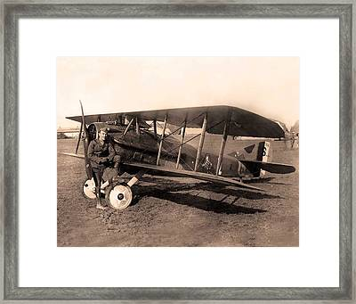 French Spad Xiii 1918 Framed Print