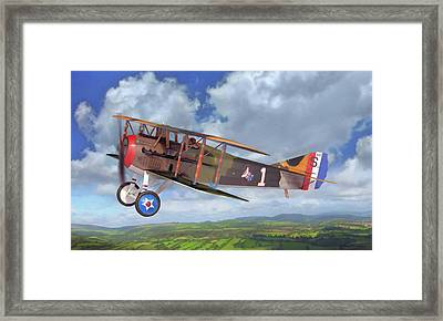 Spad Xiii Framed Print
