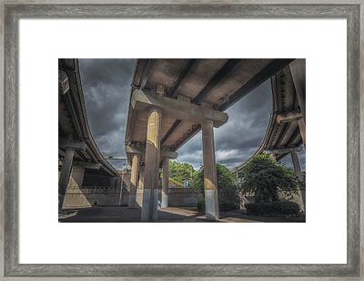 Spaghetti Junction Framed Print by Chris Fletcher