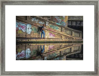 Spaghetti Junction No 5 Framed Print