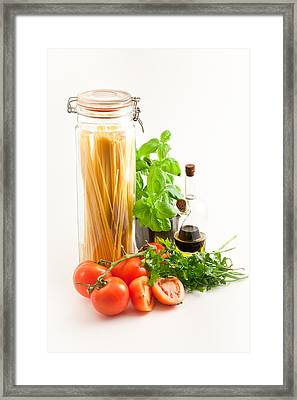 Spaghetti Framed Print by Tom Gowanlock