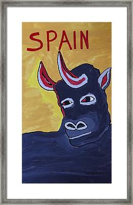 Spain  Framed Print by Don Koester