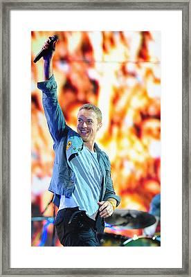 Coldplay4 Framed Print by Rafa Rivas