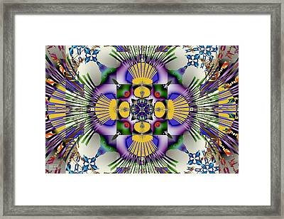 Spandex Framed Print by Jim Pavelle
