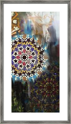 Spanish 167 2 Framed Print by Mawra Tahreem