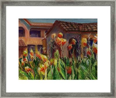 Spanish Abode Framed Print by Patricia Halstead