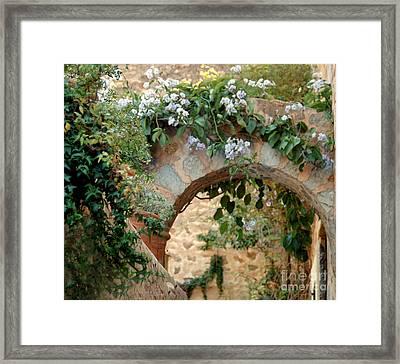Spanish Archway Framed Print