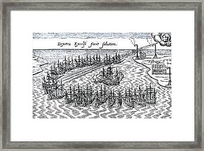 Spanish Armada Framed Print