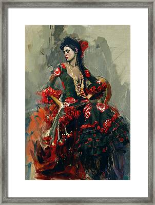 Spanish Culture 16 Framed Print by Corporate Art Task Force