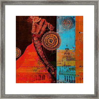Spanish Culture 21b Framed Print by Corporate Art Task Force