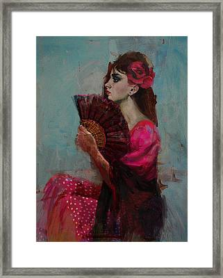 Spanish Culture 27b Framed Print by Corporate Art Task Force