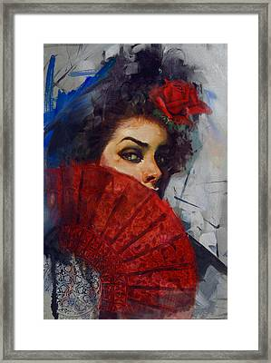 Spanish Culture 29b Framed Print by Corporate Art Task Force