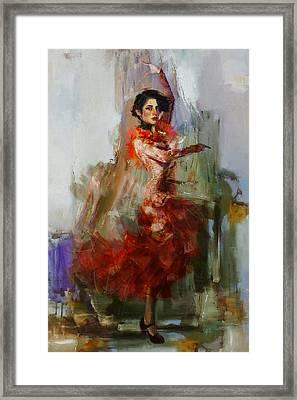 Spanish Culture 31b Framed Print