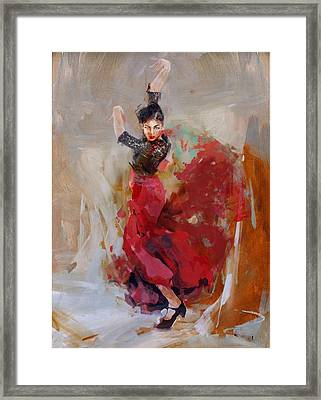 Spanish Culture 37b Framed Print