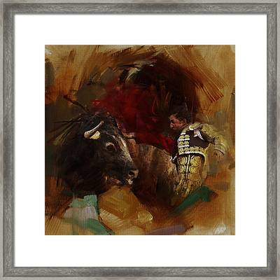 Spanish Culture 7 Framed Print by Corporate Art Task Force