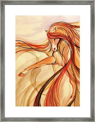 Spanish Dancer Framed Print