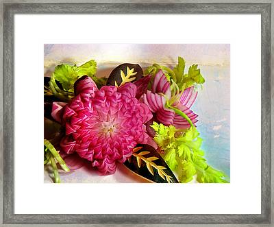Spanish Flowers Framed Print