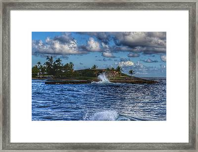 Spanish Fort  Framed Print