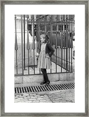 Spanish Girl Framed Print by Andrea Simon