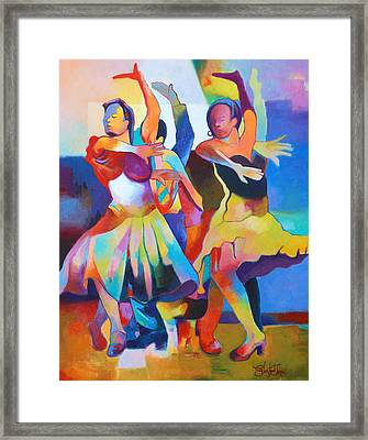 Spanish Harlem Dance Framed Print