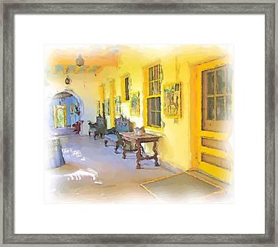 Spanish House Framed Print by Ralph Liebstein