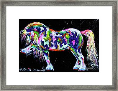 Spanish Magic Cob Framed Print by Louise Green