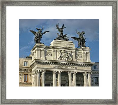 Spanish Ministry Framed Print by JAMART Photography