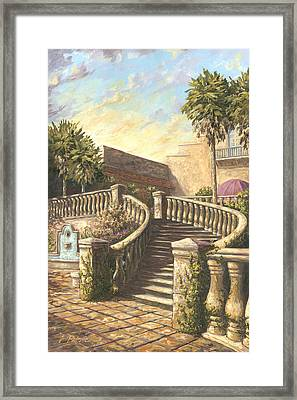 Spanish Springs Framed Print