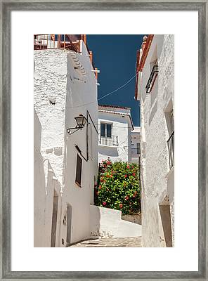 Spanish Street 2 Framed Print