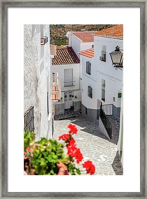 Spanish Street 3 Framed Print