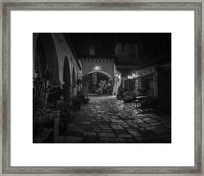 Spanish Village Framed Print