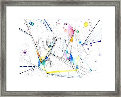 Spanning The Void Framed Print