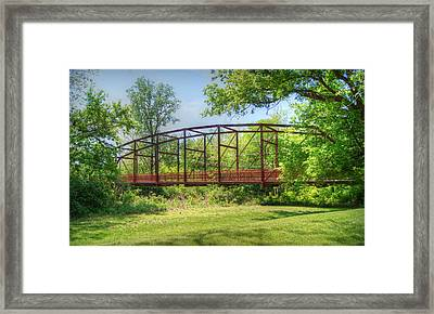 Spanning Time Framed Print by Cricket Hackmann
