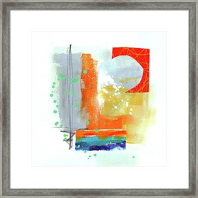 Spare Parts#4 Framed Print by Jane Davies