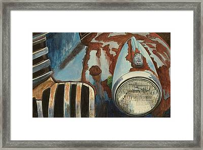 Spare Your Heart Framed Print
