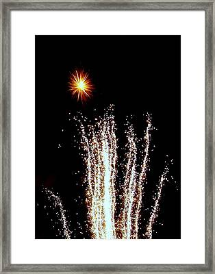 Sparkle And Water Framed Print by Michael Canning