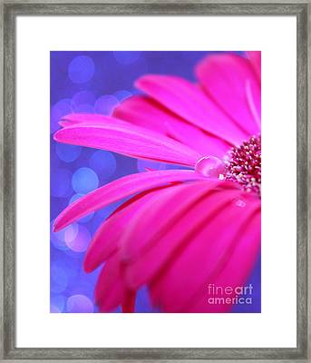 Sparkle Within Framed Print by Krissy Katsimbras