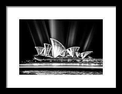 Projection Framed Prints