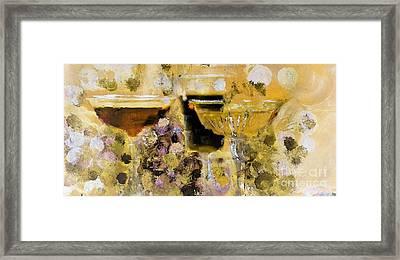 Sparkling Spirits Framed Print