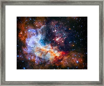Sparkling Star Cluster Westerlund 2 Framed Print