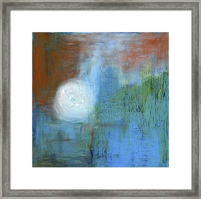 Framed Print featuring the painting Sparkling Sun-rays by Michal Mitak Mahgerefteh