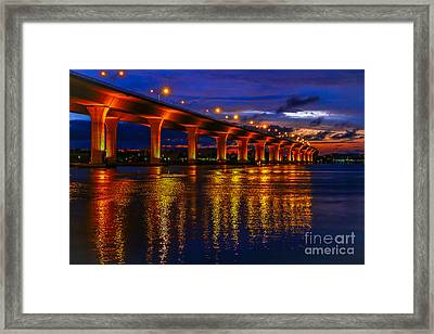 Sparkling Water Framed Print by Tom Claud