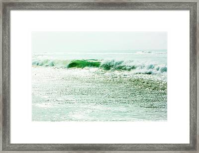 Sparkling Waves 2 Framed Print by Alan Hausenflock