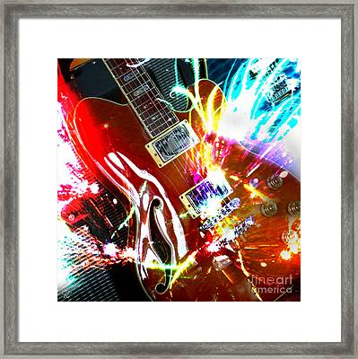 Sparks Fly Framed Print