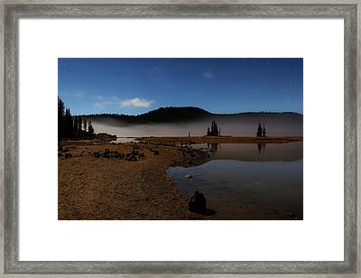 Framed Print featuring the photograph Sparks Lake At Dawn by Cat Connor