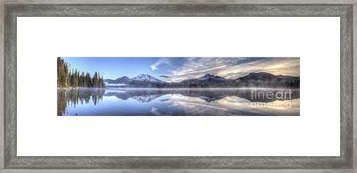 Sparks Lake Splendor Framed Print by Twenty Two North Photography