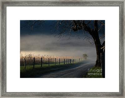 Sparks Lane Sunrise Lr3 Edition Framed Print