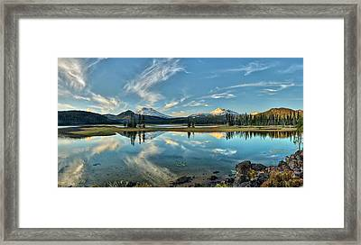 Sparks Sunset Framed Print