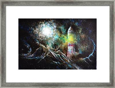 Sparks - The Storm At The Start Framed Print